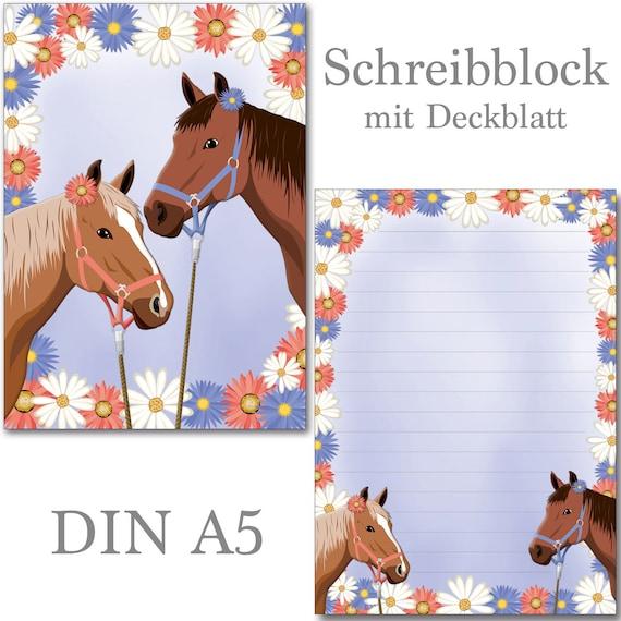 Blütenzauber Blume 1 Schreibblock A5 50 Blatt Briefpapier Notizblock Block Blüte