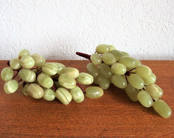 vintage decoration grapes onyx marble