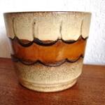 Vintage over-pot scheurich ceramic