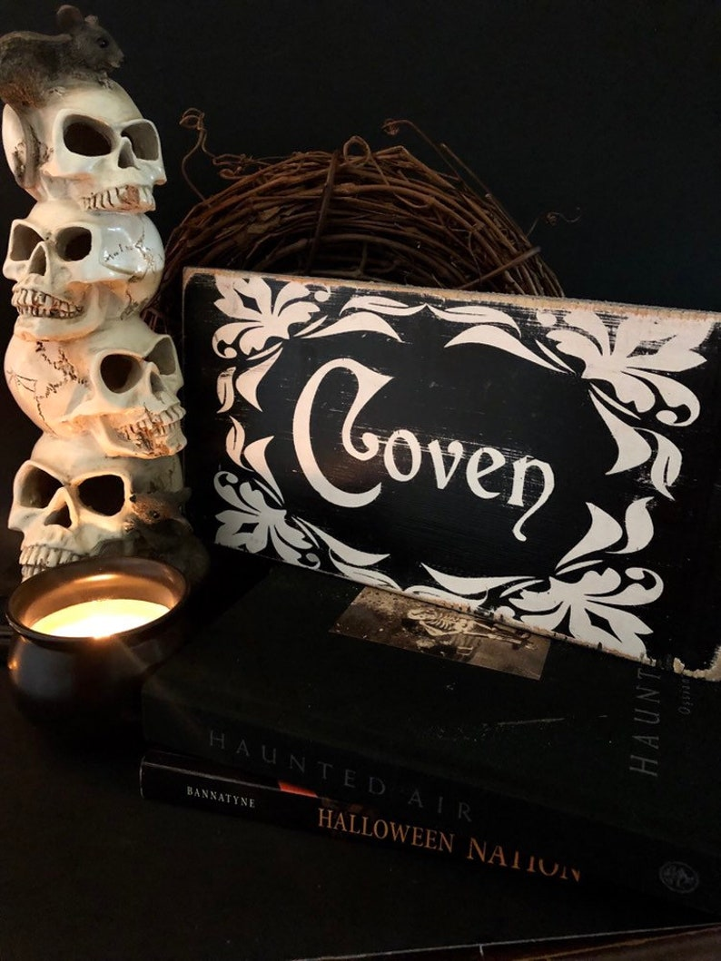 Witch Coven Art Print Witches 2019 Halloween wall decor