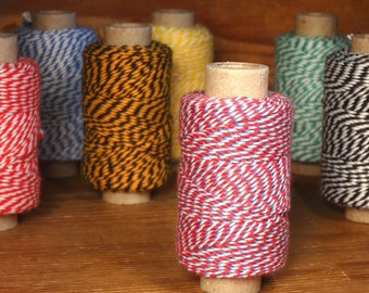 """35 m decorative yarn """"Airmail"""" blue-white-red"""