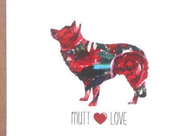 Mutt Cards, Labrador, Mutt, Dog Cards, Greeting Cards, Dogs, Stationery, Notecards, Note Cards