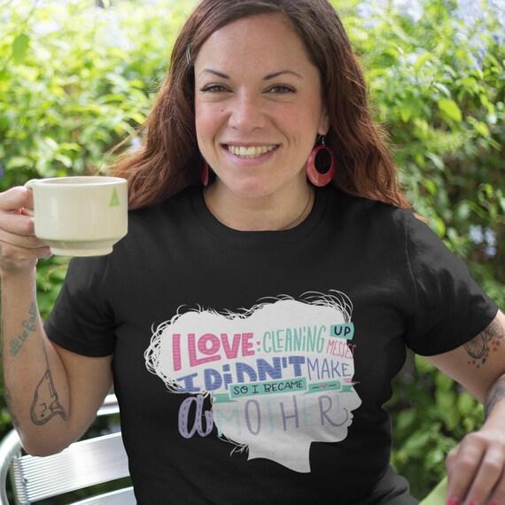 Nouvelle maman, idée idée idée de cadeau de mère chemise manches courtes T-Shirt unisexe d99848