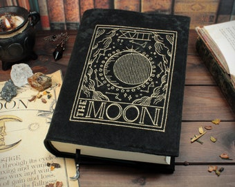 Book cover The Moon for hardcover / paperbacks up to 22 cm book height