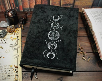 Book cover Moon Time for hardcover / paperbacks up to 21 cm book height