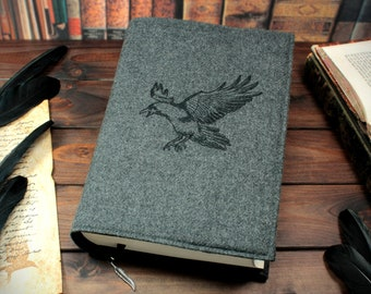 Book cover Corax for hardcover / paperbacks up to 21 cm book height
