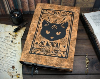 Book cover The Black Cat XI for hardcover / paperbacks up to 22 cm book height