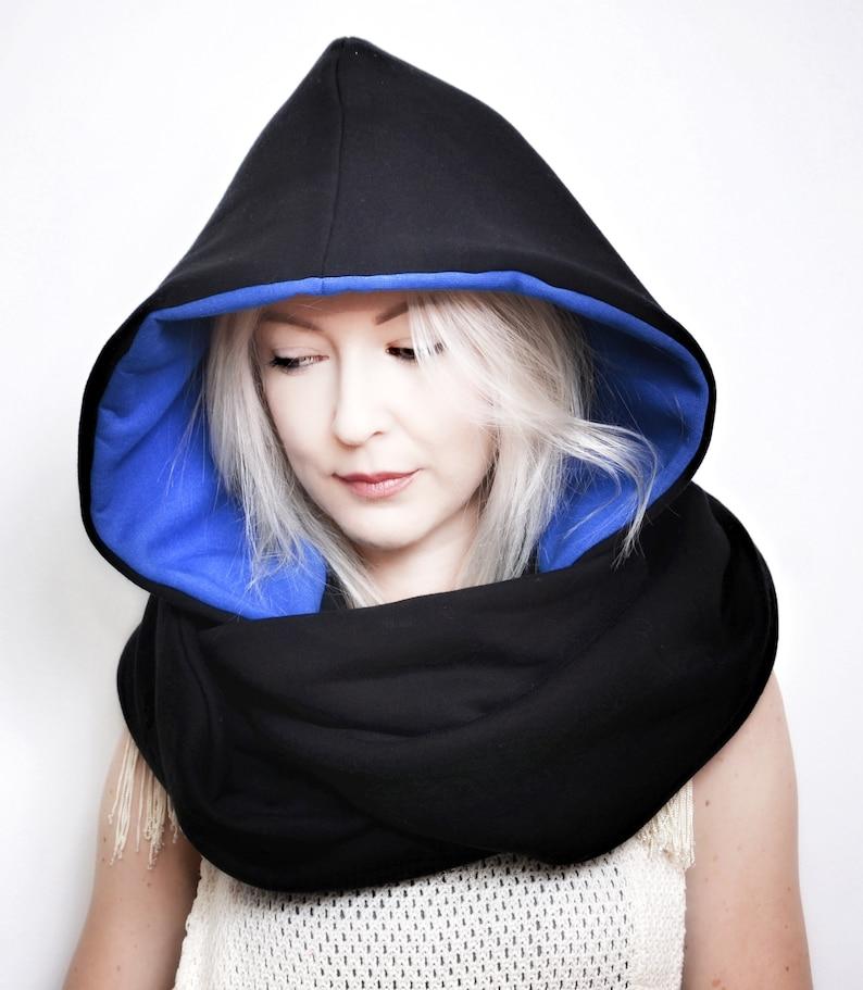 Hood and scarf 2in1 WATERPROOF COBALTIC HOOD image 0