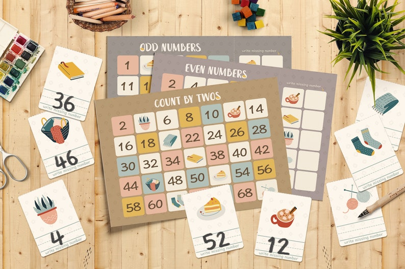 Warm Winter Counting Games   Number Game  Skipping Numbers  image 0