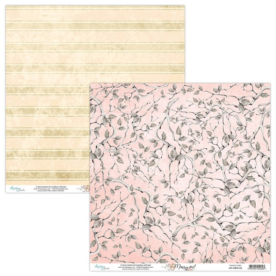 """Mintay Flora Book 2 Pad 6/"""" x 8/"""" Fussy Cutting,Flowers,Leaves,Cutting Book New"""