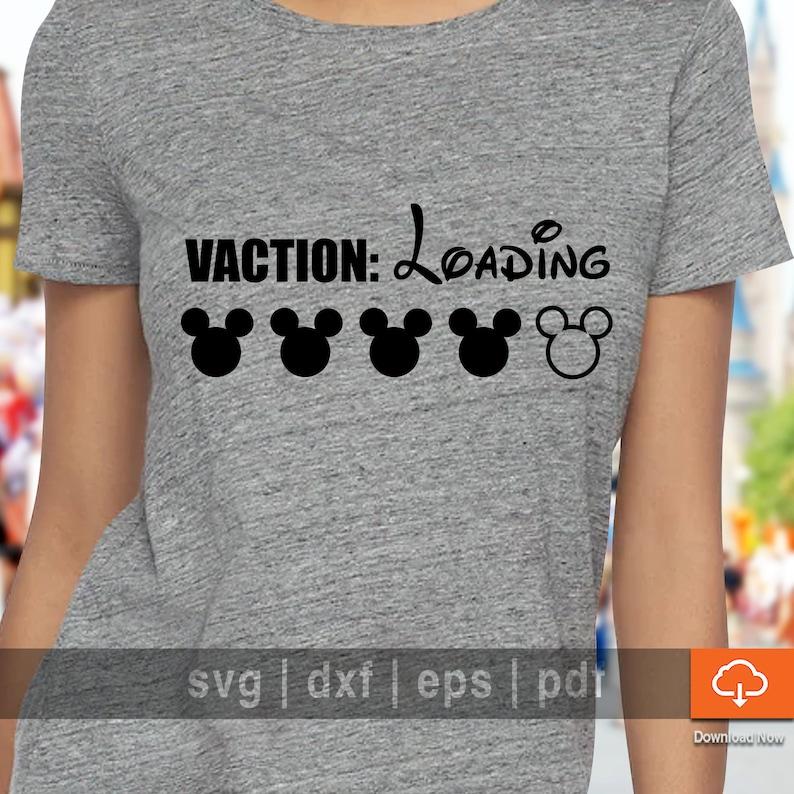 c5aea2544 Disney Family Vacation Tshirt Design SVG Cutting Files | Etsy