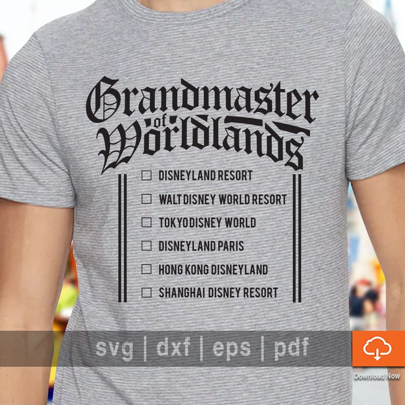 a898a099e Disneyland T shirt Design SVG Cutting Files Biggest Disney | Etsy