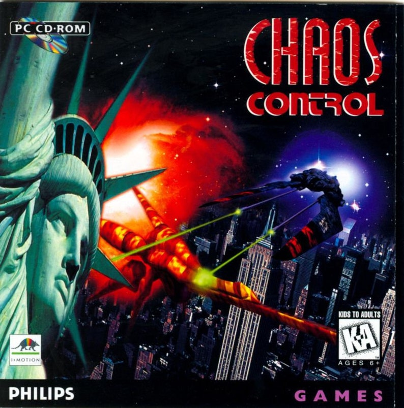 Chaos Control Reproduction Custom Philips CDI Game