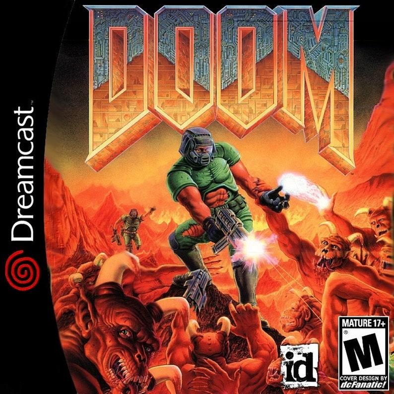 Doom Fan Made Custom Sega Dreamcast Game  PC Port!
