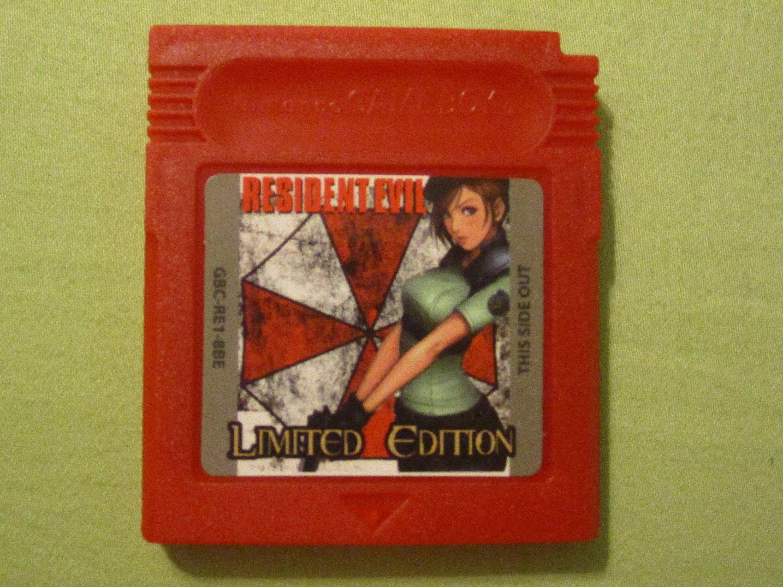 Resident Evil Gaiden Fan Made Nintendo Game Boy Color GBC Game. GameBoy