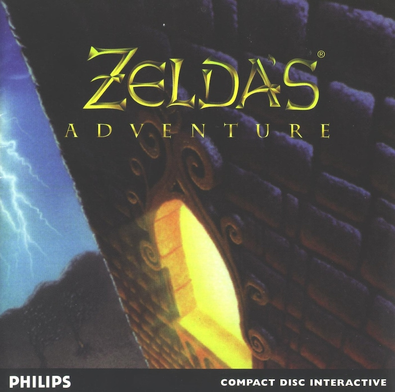 Zelda Adventure Reproduction Custom Philips CDI Game