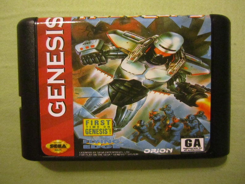 Robocop 3 III Three Fan Made Sega Genesis Game