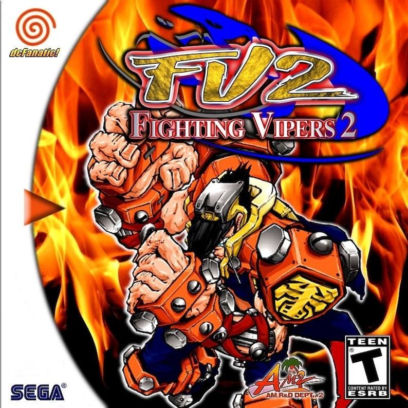 Fighting Vipers 2 Reproduction Custom Sega Dreamcast Game