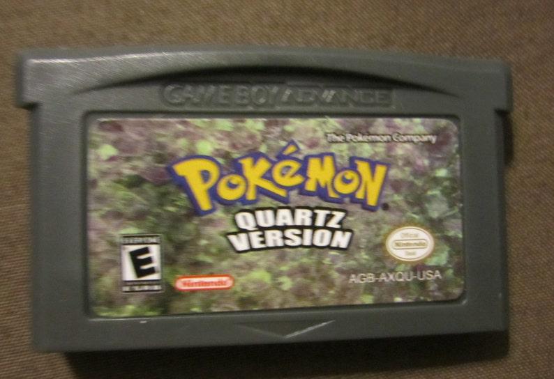 Download pokemon quartz gba rom free