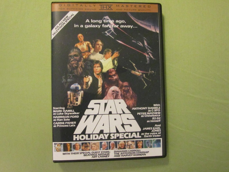 Star Wars Holiday Special DVD  1978  Custom Made  Christmas! Life Day!  Unreleased!