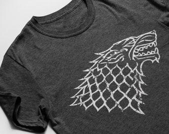c926126e House Stark Shirt. House Stark Game of Thrones T-Shirt.