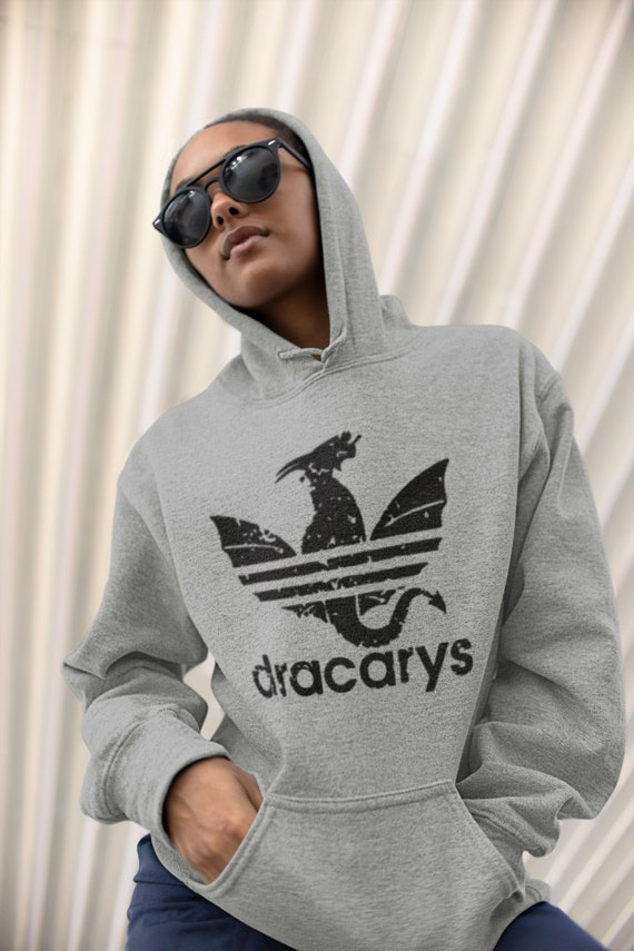 Game of Throes Adidas Draycarys Hoodie. Game of Thrones Hoodie. Game of throne merch adidas Hoodie.