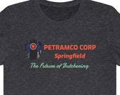 Petramco Corp Springfield T-Shirt, Funny George Costanza Shirt, Funny Seinfeld TV Show T-Shirt, Funny Seinfeld Gag Gift T-Shirt, 90s TV Show