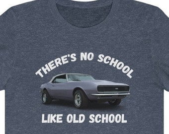 Classic Car Lover T-Shirt, Muscle Car Graphic T-Shirt, Vintage Car T-Shirt, Retro Car T-Shirt, Car Enthusiast Shirt, Father's Day Gift Idea