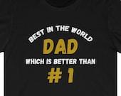 World's Greatest Dad T-Shirt, Number 1 Dad Shirt, World's Best Dad Shirt, Funny Seinfeld TV Show Shirt, Funny Seinfeld Gag Gift, Mandelbaum