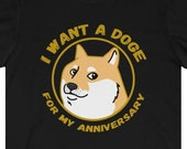Doge Anniversary T-Shirt, Dogecoin To The Moon, Dogecoin Anniversary Gift, Funny Dogecoin T-Shirt, Cryptocurrency T-Shirt, Crypto Gift, HODL