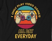 Pro Gamer T-Shirt, Funny Video Gamer Shirt, Funny Gamer Shirt, PC Gamer, Video Games Gamer Gift, Funny Pro Gamer Gift Idea, Computer Gamer