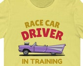 Race Car Driver in Training T-Shirt, F1 Racing Shirt, Vintage Race Car T-Shirt, Funny Racing Gift, Funny Formula 1 Gift Idea, Fast Drivers