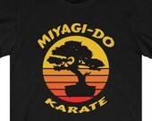 Cobra Kai Miyagi Do Karate T-Shirt, Miyagi Do Dojo, Daniel LaRusso, Johnny Lawrence, John Kreese, Cobra Kai Gift Idea, All Valley Tournament
