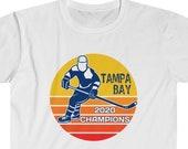 Tampa Bay 2020 Champions T-Shirt, Tampa Bay Stanley Cup Champs 2020 Shirt, Tampa Bay Hockey 2020 Champions, Tampa Bay Hockey Fan T-Shirt