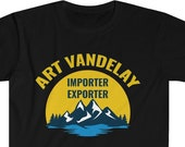 Art Vandelay T-Shirt, Funny Birthday Shirt, Funny Anniversary Gift Idea, TV Show Fan, TV Show T-Shirt, Popular 90's Show, TV Show Character