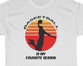 Basketball Unisex T-Shirt, Basketball Fan Shirt, Basketball Gift Tee, Sports Tees, BBall T-Shirt, Hoops, Boys Basketball, Girls Basketball
