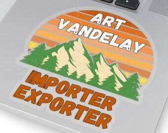 Art Vandelay Sticker, Funny Seinfeld Sticker, George Costanza Art Vandelay, Seinfeld TV Show, Funny Seinfeld Christmas Sticker, 90s TV Show