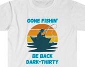 Gone Fishing T-Shirt, Fishermen Shirt, Fishing Lover T-shirt, Fishing Gift, Fishermen Wear, Fishing T-Shirt, Fishermen Outfit