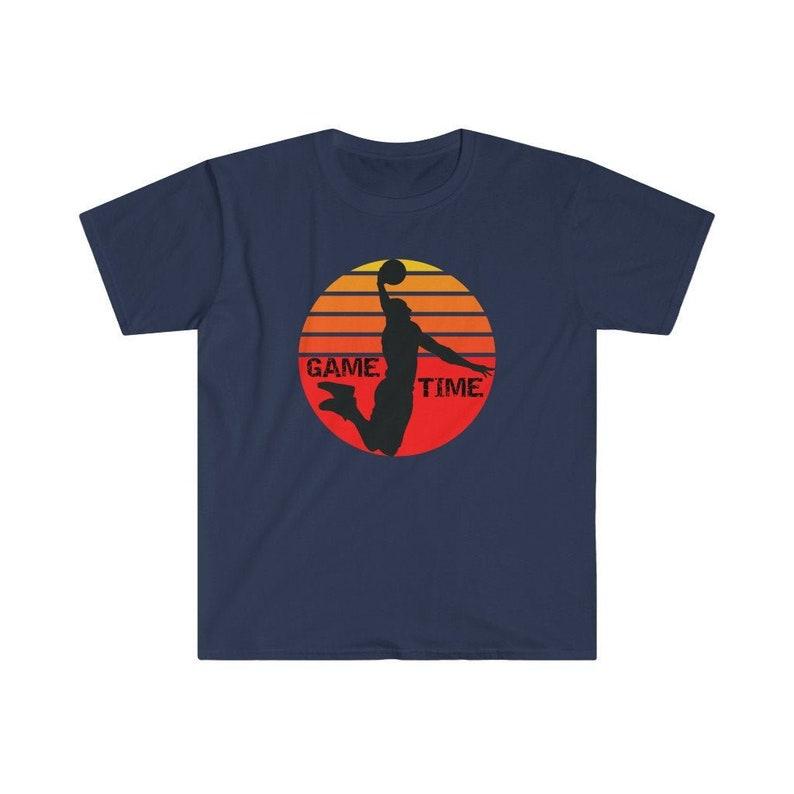 Basketball Unisex T-Shirt Basketball Fan Shirt Basketball image 1