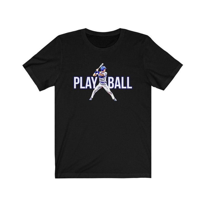 Play Ball Baseball T-Shirt Baseball Player Shirt Baseball image 0