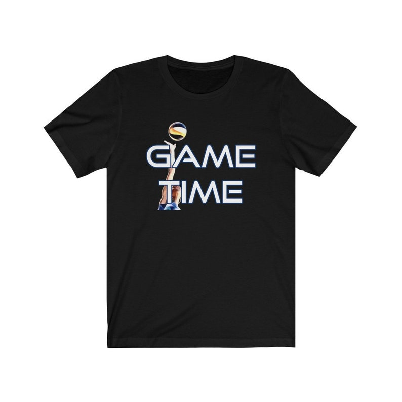 Game Time Volleyball T-Shirt Volleyball Player Shirt image 0