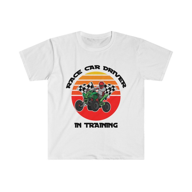 F1 Racing T-Shirt Fast Drivers Race Car Driver in Training image 1
