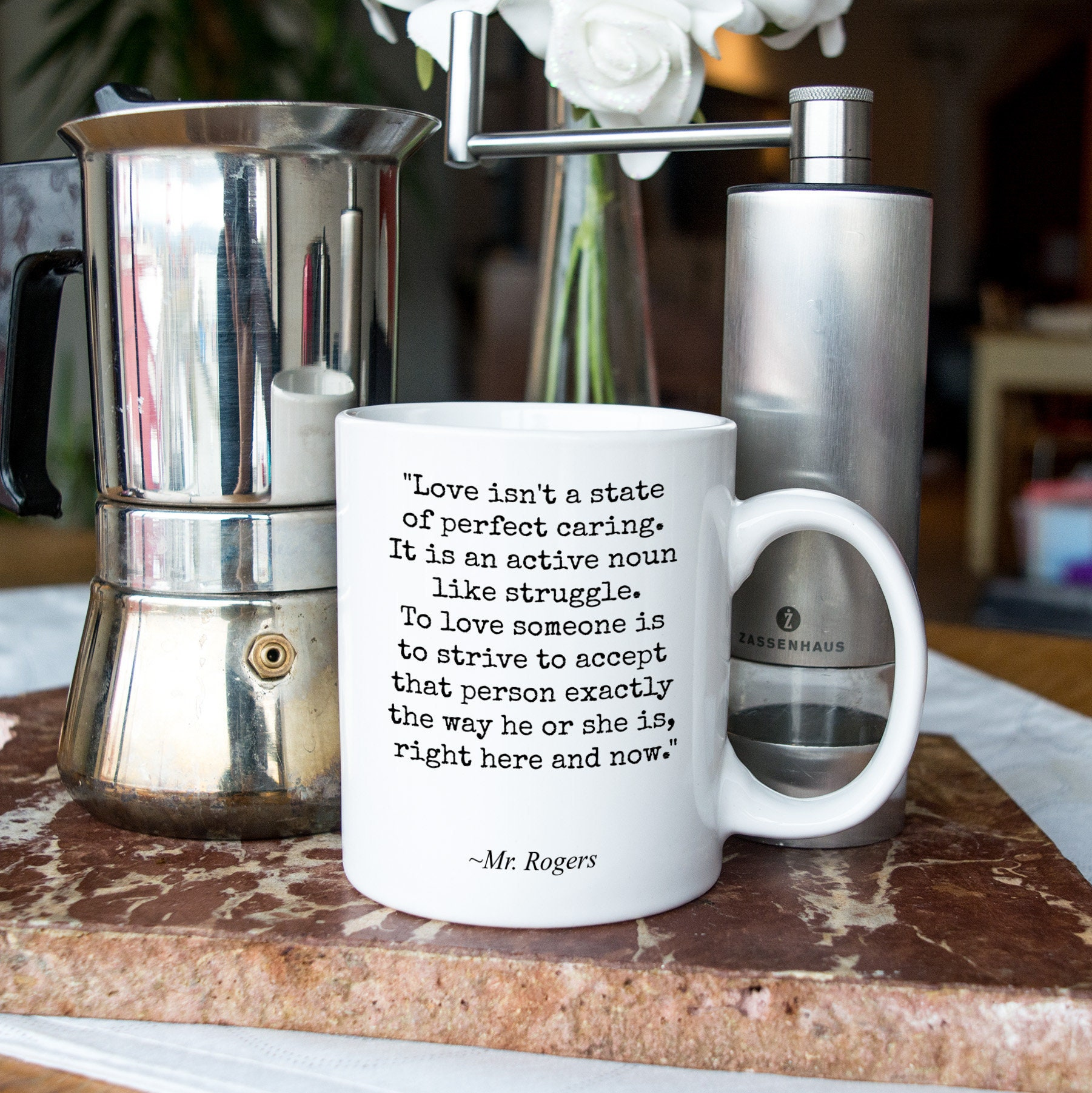 Mr Rogers Quote Mug For Son Daughter Best Friend From Mom Etsy