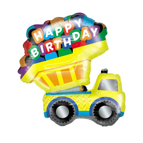"33/"" Jumbo Firetruck Mylar Foil Balloon Party Decorating Supplies"