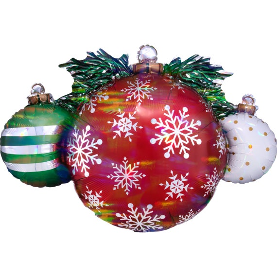 Office Christmas Party Christmas Candy Holiday Balloon Christmas Party Christmas Decorations 18 Red Candy Swirl Christmas Balloons