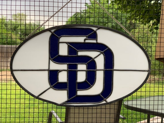 Stained Glass San Diego.San Diego Padres Stained Glass Suncatcher Padres Suncatcher