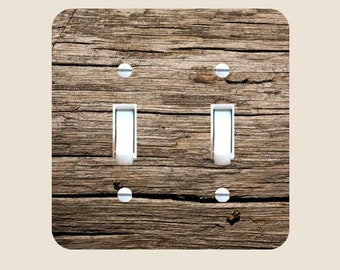 rustic light switch covers rustic wood dark brown farmhouse rustic light switch plate cover bedroom bathroom décor home living and wall decor barn wood switch plate etsy