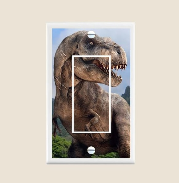 Art Plates Velociraptor Switch Plate Triple Toggle Tools Home Improvement Light Switches