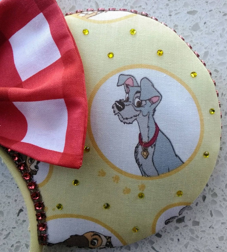 Ready to Ship Lady and the Tramp Fits Kids to Adults Minnie Ears