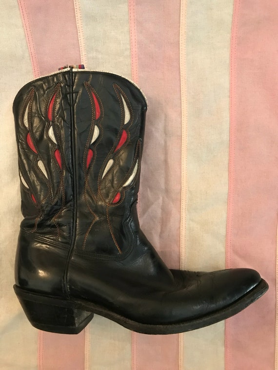 SOLD Vintage ACME Western Boots. 1950's. Size 8.5